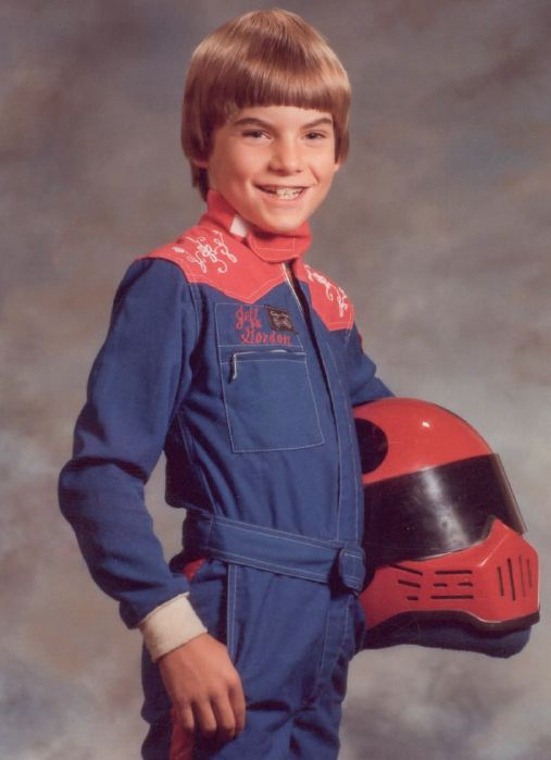 About Jeff Gordon - Childhood Photos