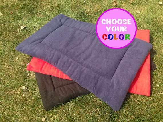 Custom Dog Crate Pads to Fit Your Crate by LuluCrateCouture