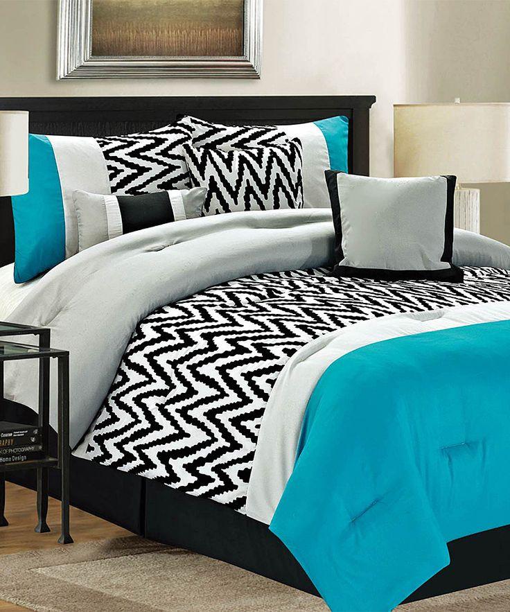 Black And White Chevron Bedroom Ideas Zebra Bedroom Decor Bedroom Curtains Tesco White Vintage Bedroom Ideas: Best 25+ Chevron Comforter Ideas On Pinterest