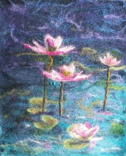 Felted Art by RoseElla Porter