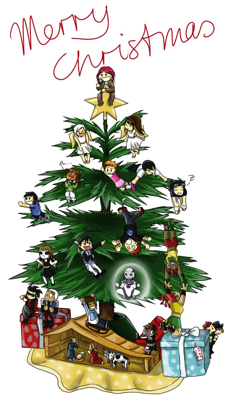 Merry Christmas by Izz2000.deviantart.com on @DeviantArt