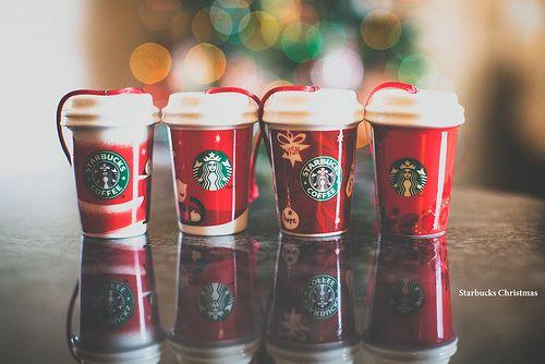 Starbucks Christmas [2/25 Days of Christmas Bokeh]  #Starbucks #Christmas #Bokeh