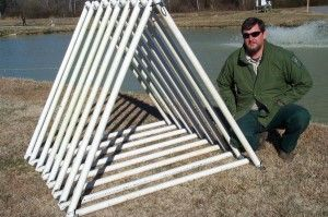 9 best pvc fish structures images on pinterest crappie for Ga dnr fishing