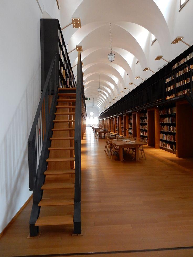 San Giorgio 14 (Fondazione Cini - Biblioteca progetto De Lucchi)