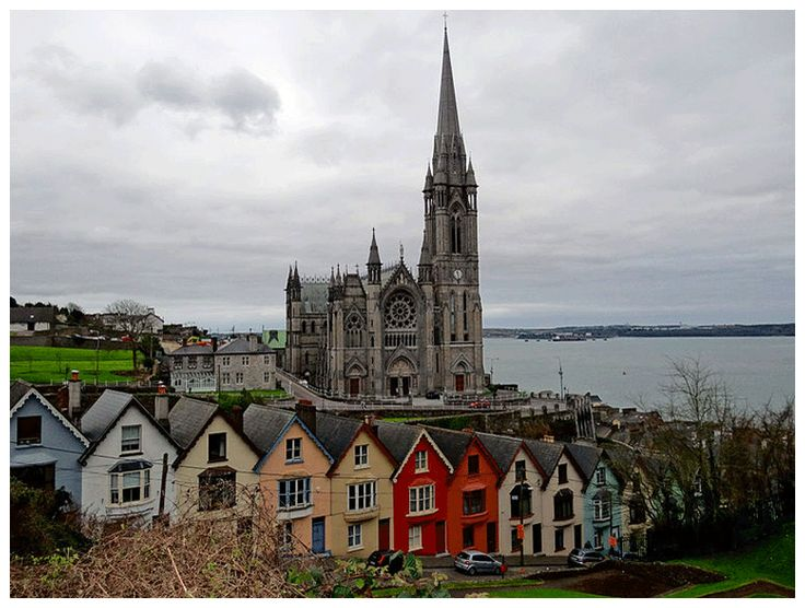 Cobh, Ireland, where Briana and Hamish visit St. Colman's Cathedral.