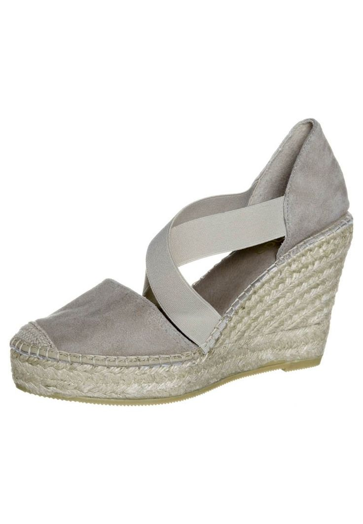 Zalando Collection - Sandali con la zeppa - grigio