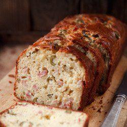 Ciasto wytrawne z szynką, serem i oliwkami | Kwestia Smaku