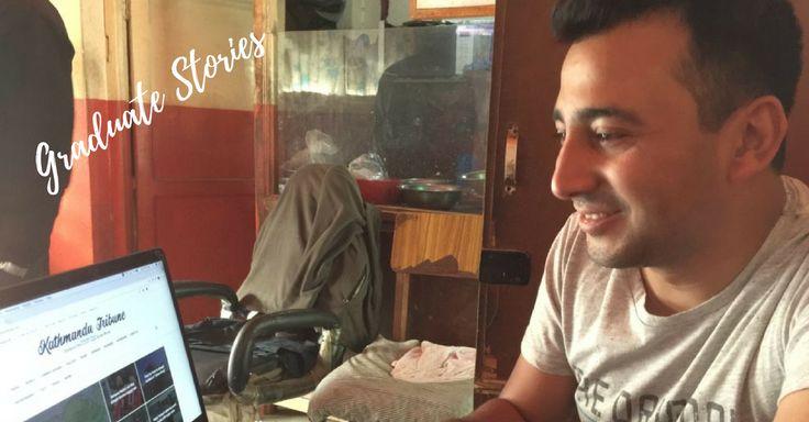 Graduate Arun sets up Nepal news website