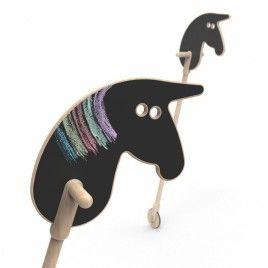 Käpphäst – Cowboy horse on a stick