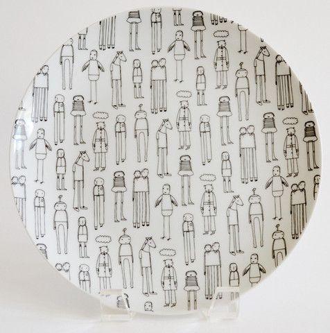 Everyday People Plate Set by K Studio