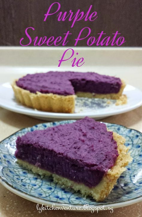 LY's Kitchen Ventures: Purple Sweet Potato Pie