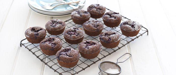 Boysenberry & Chocolate Friands