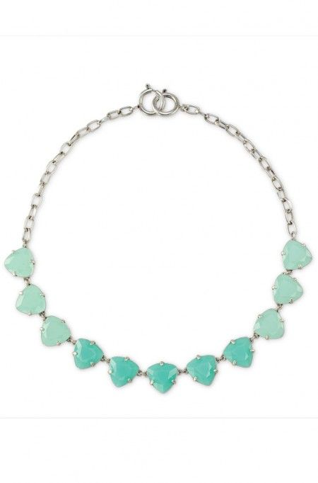 This crystal necklace transitions beautiful from day to night | Stella & Dot $59
