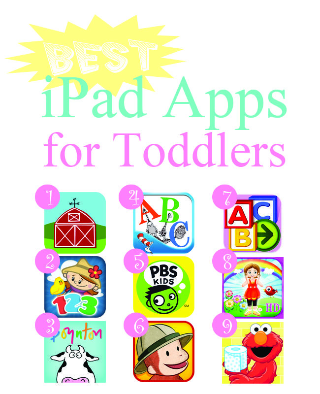 Best iPad apps for Toddlers...its ridiculous that I got so excited about this!#Repin By:Pinterest++ for iPad#