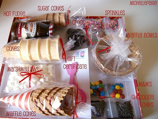 Gift Idea: Ice Cream Social in a Box