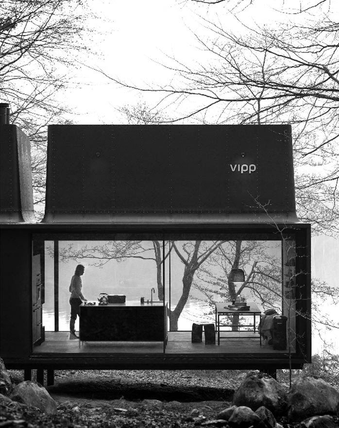 The Vipp Shelter   Now you can live in a Vipp! #prefab