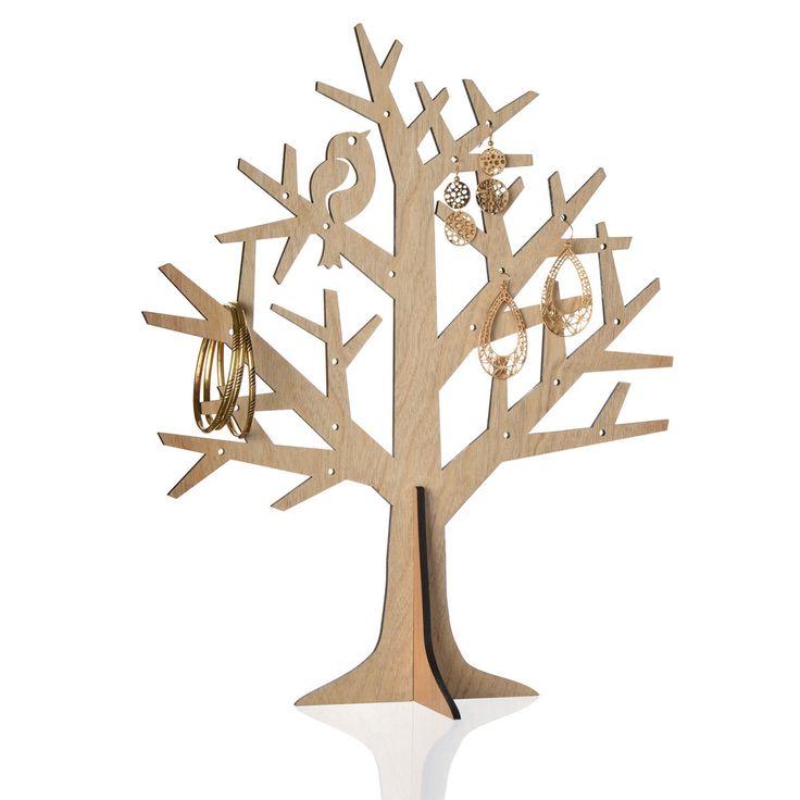 Les 25 meilleures id es de la cat gorie arbre bijoux sur for Arbre mural en bois