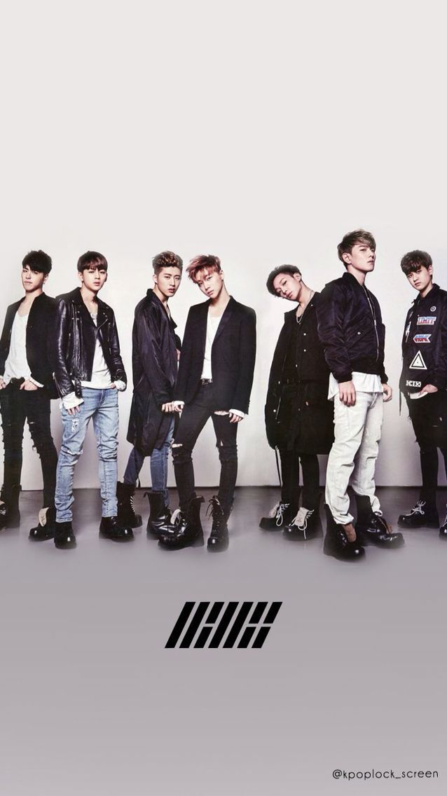 iKON Wallpaper Cr: Kpoplock_screen