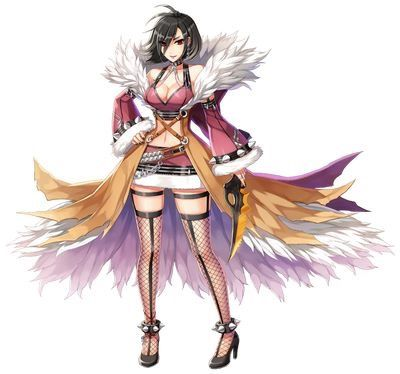 Female Shadow Chaser New Costume Official Illustration