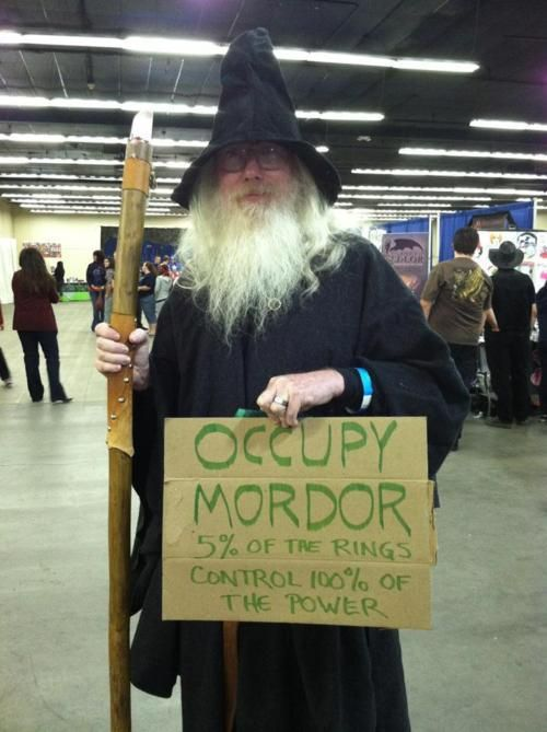 Occupy Mordor. 4 Brilliant Lord of the Rings Jokes. | Stuff Christians