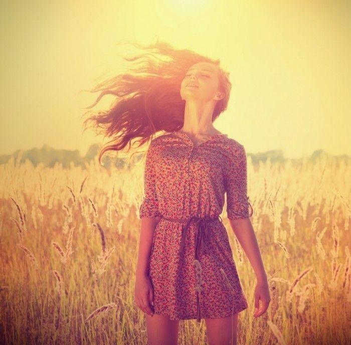 Девушка в поле   Girl in the field