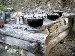 great outdoor cook area
