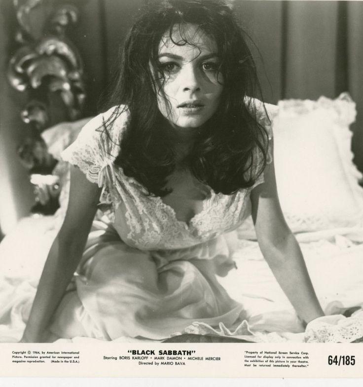 BLACK SABBATH Original Movie Still 8x10 Horror Michele Mercier 1964 9373