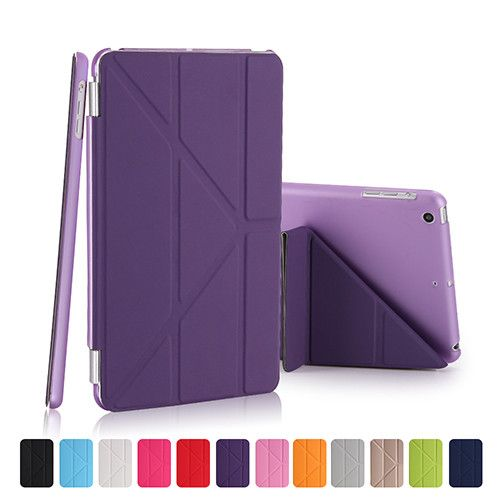 CTRINEWS Fashion PU Leather Cover For Apple iPad Air 1 Case Magnetic Wake /Sleep Tablet Case for iPad Air Muti-fold Stand Cover