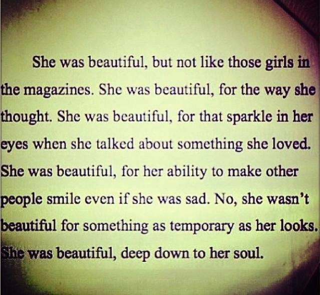 True Beauty Quotes: Quotes About True Beauty. QuotesGram