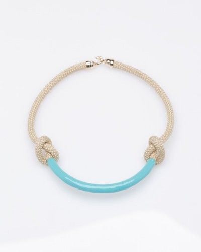 Necco Necklace In Turquoise