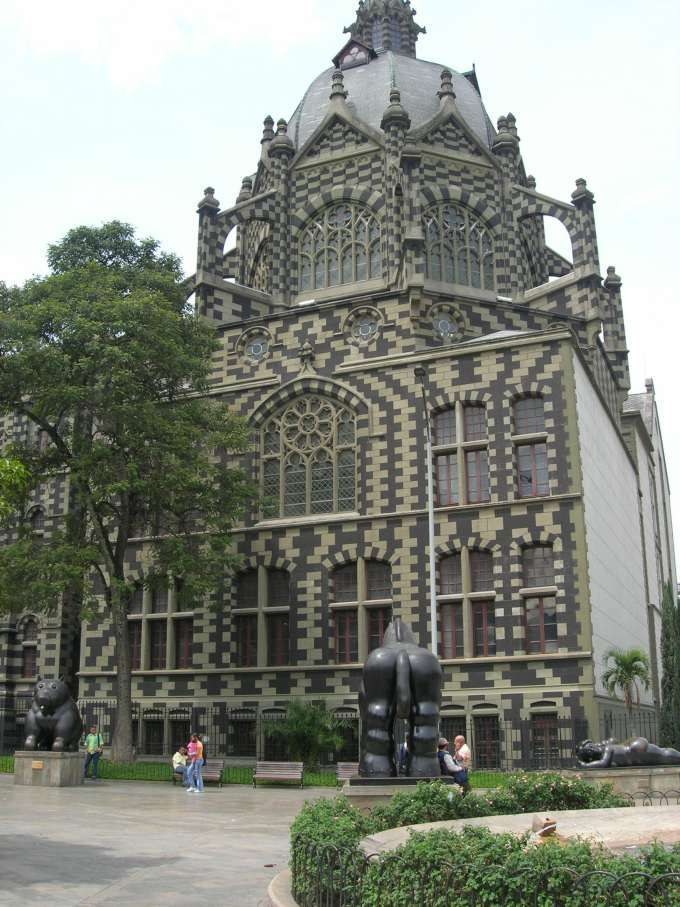 Palace of Culture, Medellin, Colombia