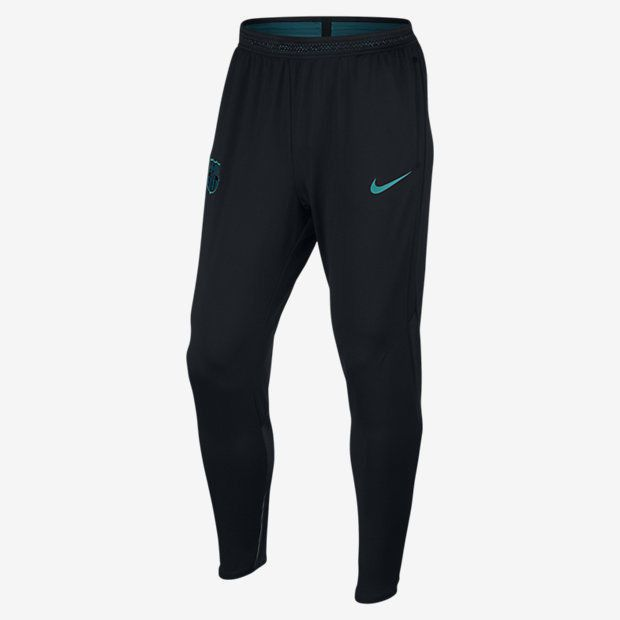 NIKE FC BARCELONA PLAYERS DRY STRIKE TRAINING PANTS 2016/17 Black/Energy.