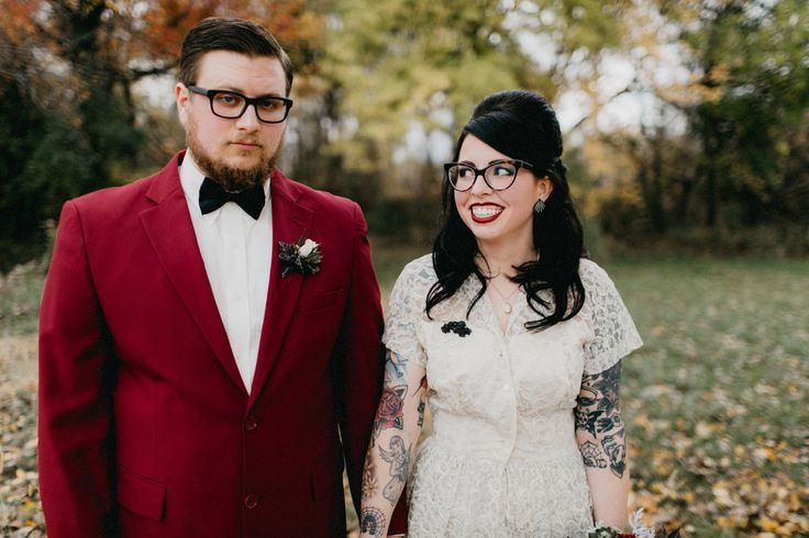 'Til Death Us Do Part Themed Wedding in October