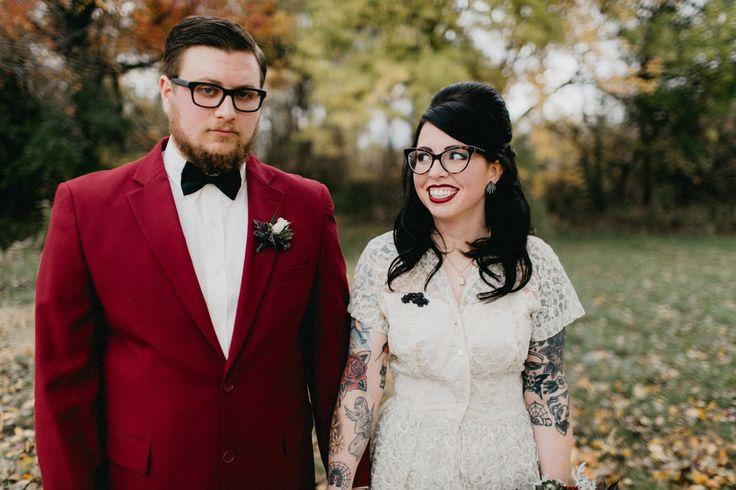 'Til Death Us Do Part Themed Wedding in October