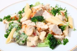 Pasta with Chicken & Vegetables