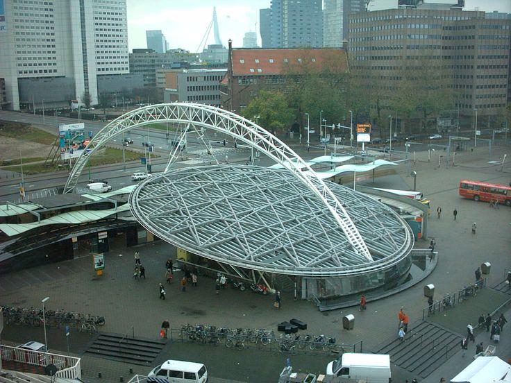 Rotterdam Blaak metro station