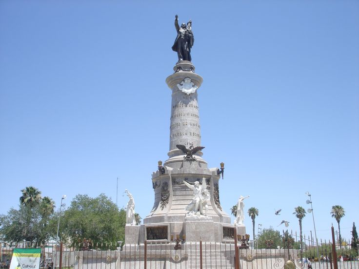 Monument to Benito Juarez. Juarez is named after Benito Juarez, and this is a beautiful monument we all should visit and enjoy.