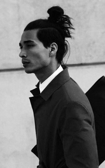 40 Samurai Hairstyles For Men Modern Masculine Man Buns Man Buns