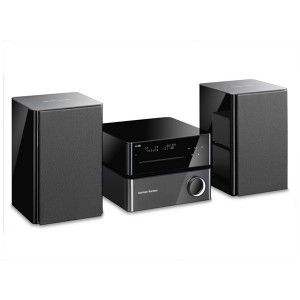 Harman Kardon MAS 101 - As a high-performance music system, the MAS 101 has all the same features of its older sibling, the MAS 100, but includes The Bridge IIIP docking station.