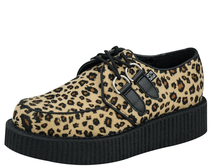 Leopard Low Sole Creeper - T.U.K. Shoes | T.U.K. Shoes Size 10
