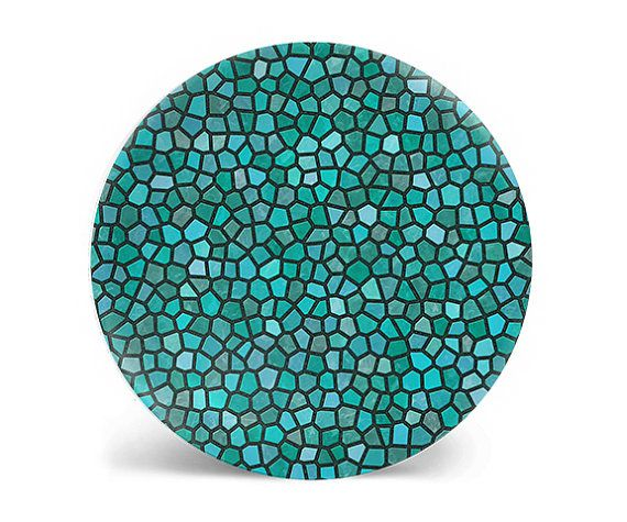 Hey, I found this really awesome Etsy listing at https://www.etsy.com/listing/468175842/teal-decorative-plate-dinner-plate