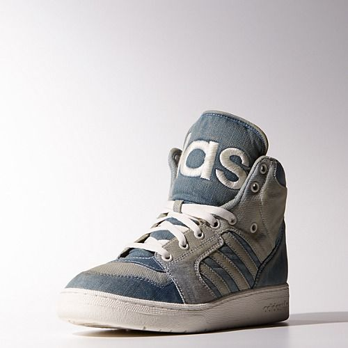 adidas Jeremy Scott Instinct Hi Denim Shoes