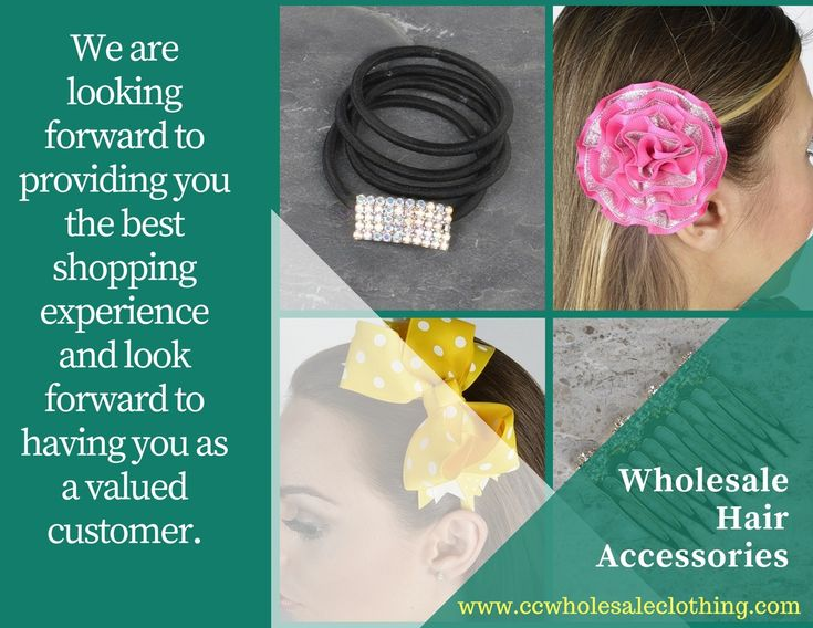 If you need any of Wholesale Hair Accessories  then immediately visit at: https://www.ccwholesaleclothing.com/HAIR-ACCESSORIES_c_63.html