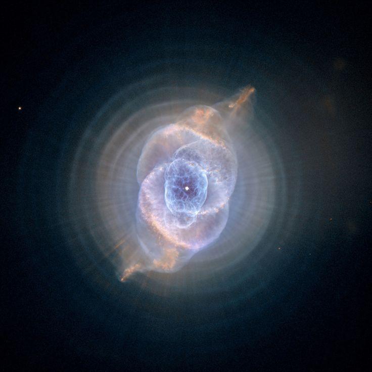[포토] 고양이 눈 성운 -  25살 허블 망원경, 우주의 신비를 담다 : 과학 뉴스 : 한겨레