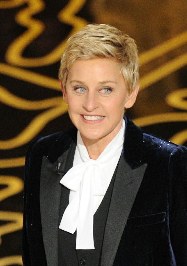 — Ellen DeGeneres..... might try her hair cut