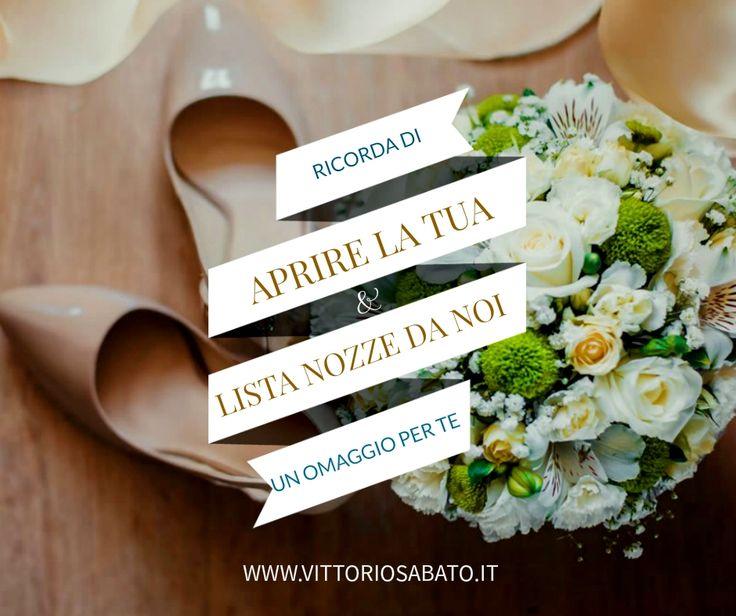 Apri la tua lista nozze