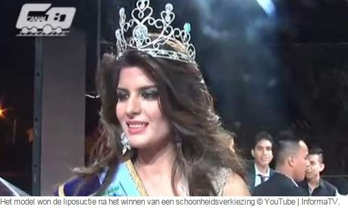 Beauty queen (19) wint liposuctie en sterft tijdens operatie