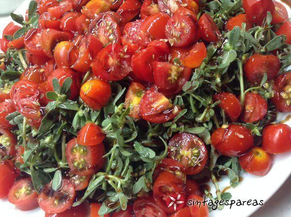 Βιταμινούχα σαλάτα γλυστρίδας #sintagespareas #salataglistridas