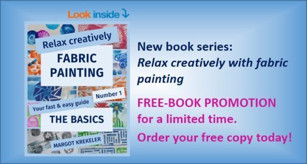 No 89: New fabric-painting book series – 'free book' promotion for a limited time