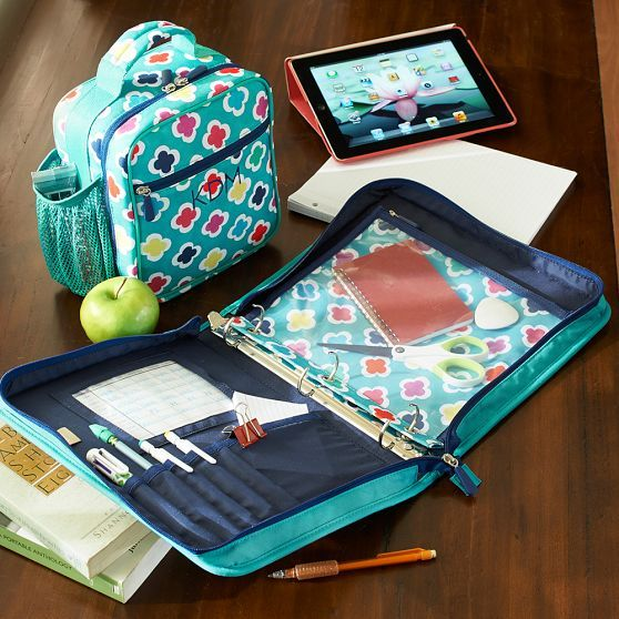 Gear Up Preppy Geo Classic Lunch With Mesh Side Pocket